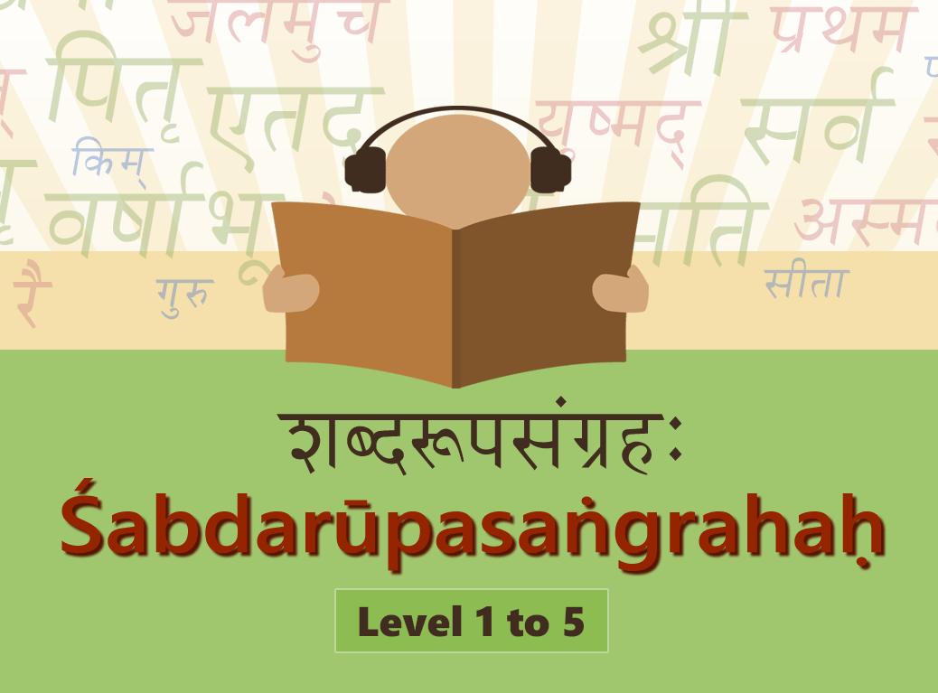 Learn Shabdaroopas - Level 5 (Very Rare Ajanta and Halanta words)