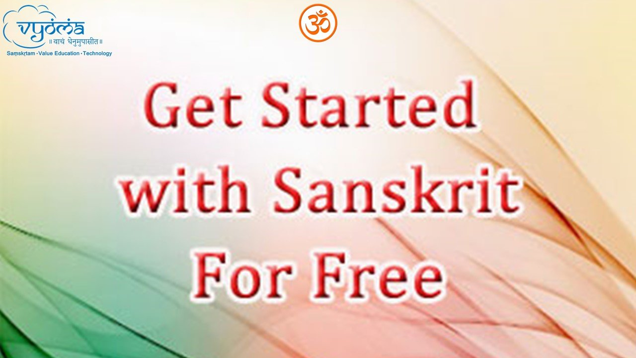 Getting started with Sanskrit